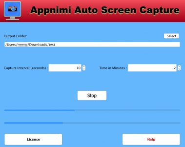 Appnimi Auto Screen Capture - While Taking Screenshots
