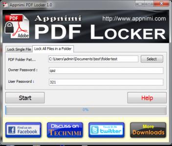 Appnimi PDF Locker Screenshot2