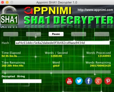 appnimi sha1 decrypter for mac - decrypting